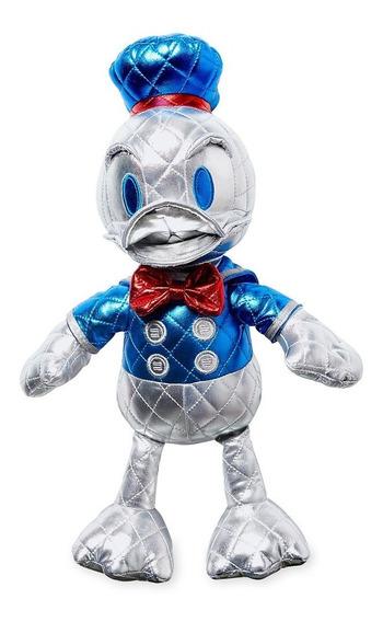 Disney Store Pato Donald Pelúcia Metálica Original