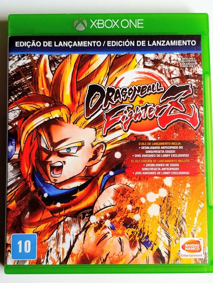 Dragon Ball Fighters Z Xbox One Midia Física