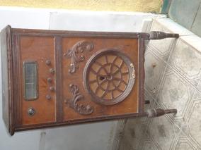2 Rádios De Madeira Valvulados. Somente Para Retirada