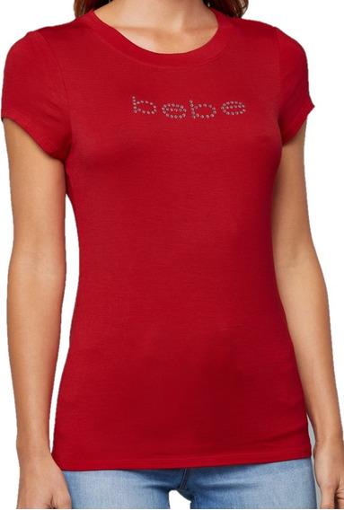 Blusa Top Bebe Logo Al Frente Manga Corta Cuello Redondo