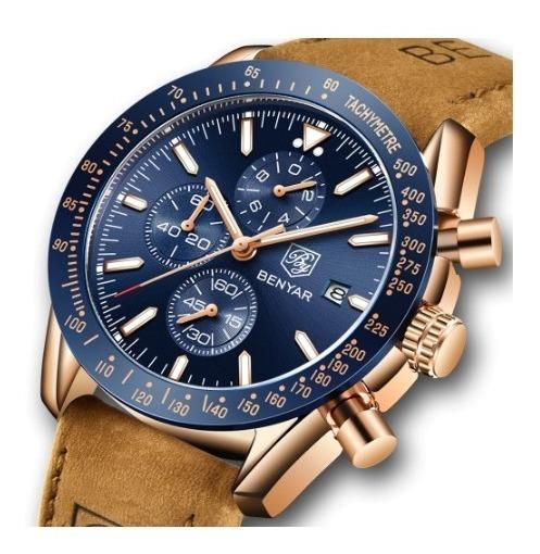 Relógio Benyar 5140 Masculino Original De Luxo