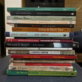 Lote De 62 Livros De Literatura, Romance, Filosofia E Outros