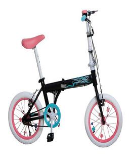 Bicicleta Plegable Bia Rodado 16 Disney Dencar @ Mca