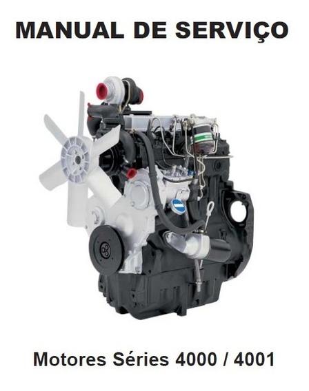 Manual De Serviço Motor Perkins Série 4000/4001