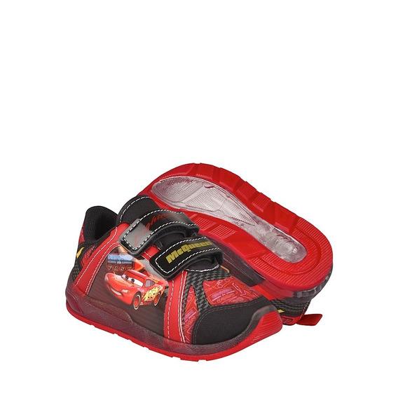 Tenis Casuales Para Niño Cars 8934 Rojo