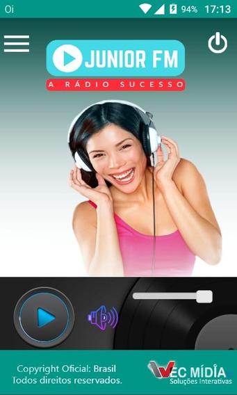 Criação De Aplicativo Para Web Rádio Publicado N Google Play