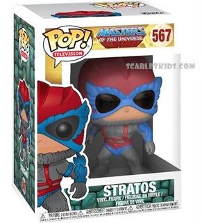 Funko Pop Stratos 567 Original Amos Del Universo Scarlet