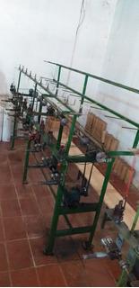 Maquina De Agulhas Para Fabricação De Cordões