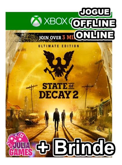State Of Decay 2 Edição Suprema Xbox One Digital+ 1 Brinde
