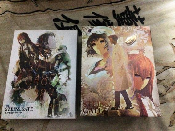 Steins;gate Série Completa + Filme Blu-ray Boxes Japão