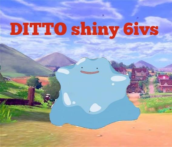 5 Ditto Shyni 6ivs Japonés Pokémon Espada Y Escudo