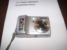 Câmera Digital Samsung S630 Para Retirar Peças