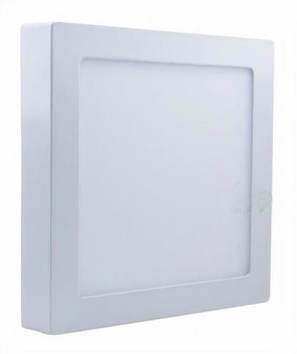 Imagem 1 de 4 de Kit 8 Painel Plafon Luminaria Sobrepor Teto Led Quadrado 18w