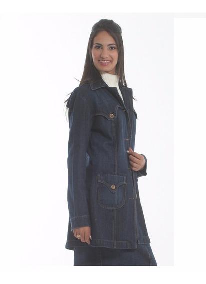 Sobretudo Casaco Jeans Feminino Promoção 2320.