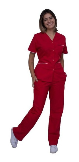 Chaquetilla De Color De Mujer Escote En V Cima Uniformes