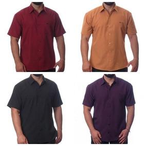 c18d53834 Camisa Atacado Masculina - Calçados, Roupas e Bolsas Cinza no ...