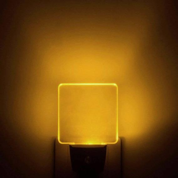 Iavo Auto Encendido/apagado Mini Luz De Noche Led Con Sensor