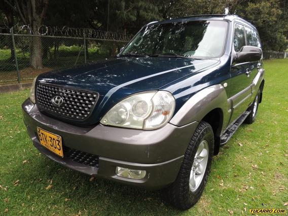 Hyundai Terracan Gl 3.500cc Mt 4x4 Aa 7psj Fe