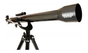 Telescópio Astronomia Vivtel60700 Ótico Refração 168x/525x