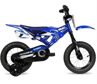 Bicicleta Tipo Moto Yamaha R12 Niños 3-5 Años Envio Gratis