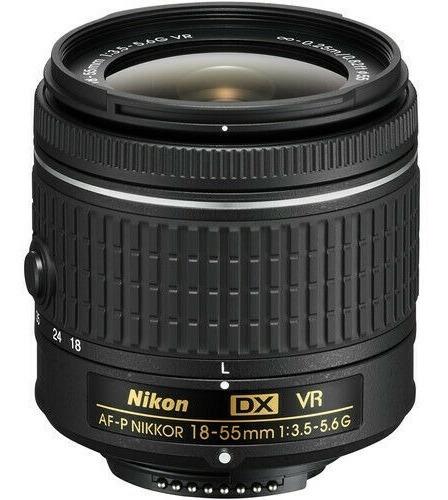 Lente Nikon 18-55mm F/3.5-5.6g Vr Af-p Dx Nikkor Nuevo!!!