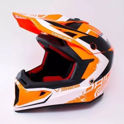 Casco Moto Origine V325 Arrow Rojo / Lavalle Motos