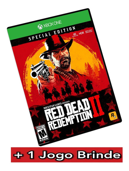 Red Dead Redemption 2 Especial Edition Xbox One + Brinde