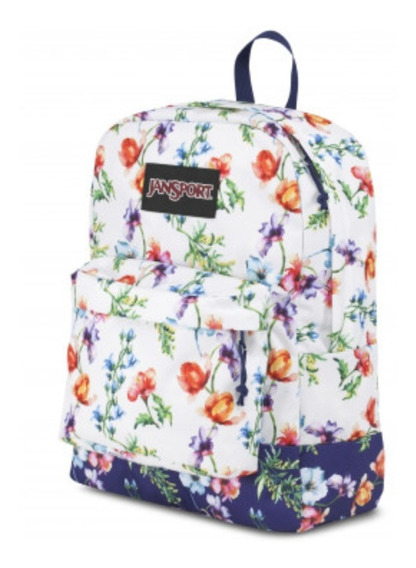 Mochila Jansport - Black Label Flores - 25 Litros