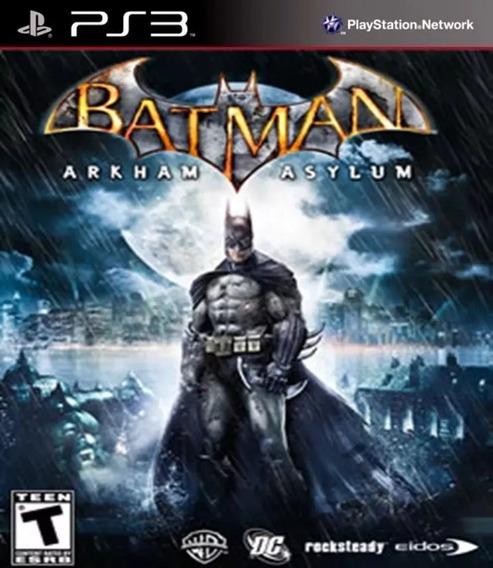 Batman: Arkham Asylum Ps3 Psn Original Envio Rápido