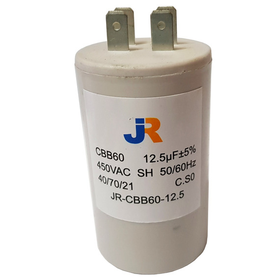 Capacitor Elavsa 12 5 Uf 370 Vac Dielektrol 50/60 Hz