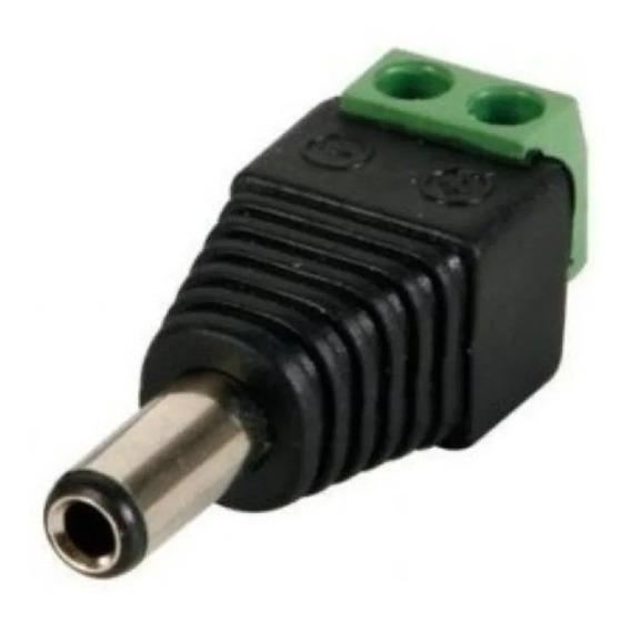 Genérico Plug-m-v Plug Universal Macho Con Terminales Eleseg