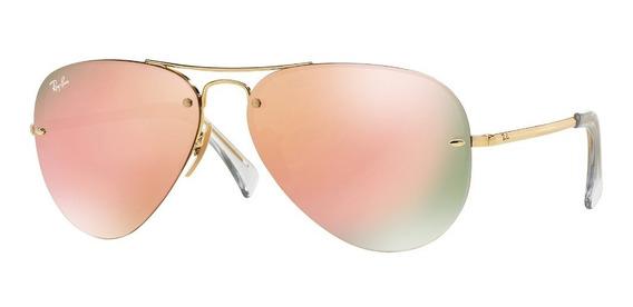 Gafas De Sol Ray-ban® Aviador Copper Mirror.