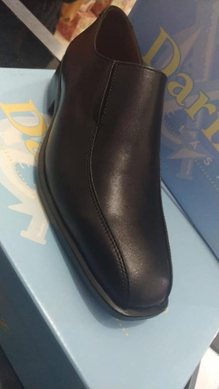 Zapatos Hombre Cuero Art 1343 39 Al 45 G