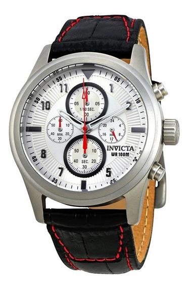 Relógio Invicta Aviator Prata 22976 Original Novo No Brasil