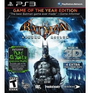 Batman Arkham Asylum Fisico - Audiojuegos