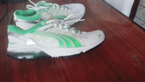 Tenis Puma Nuevos Blanco/verde