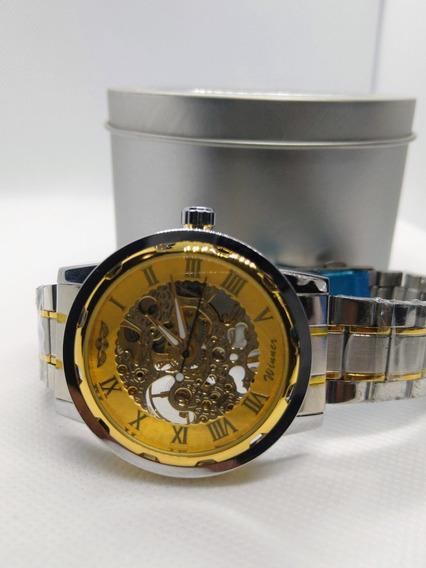 Relógio Winner Masculino Esqueleto