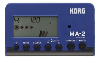 Metrónomo Digital Korg Ma-2 Blue And Black