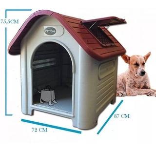 Cucha Térmica Perros Medianos 75.5x72x87cm-envios Gratis