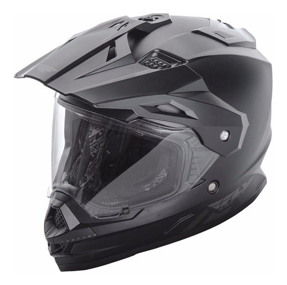 Casco Moto Fly Trekker Con Visera Y Visor Avant Motos