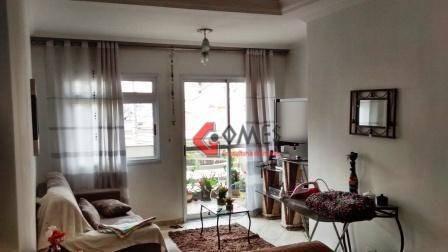 Apartamento Com 3 Dormitórios À Venda, 92 M² Por R$ 465.000,00 - Rudge Ramos - São Bernardo Do Campo/sp - Ap1644