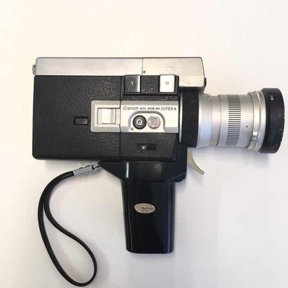 Filmadora Antiga Canon Zoom 518 Super 8 Com Maleta