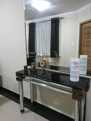 Sobrado Com 3 Dormitórios À Venda, 196 M² Por R$ 750.000,00 - Parque Continental Ii - Guarulhos/sp - So0627