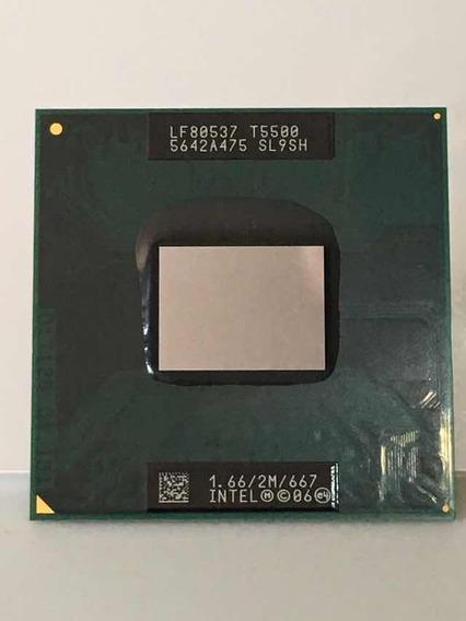 Processador Intel Core 2 Duo T5500 2m Cash 1.66 Ghz 667mhz