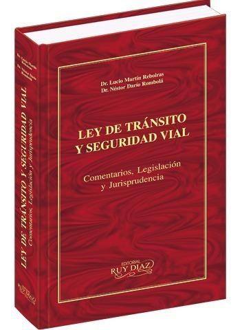 Libro Ley De Tránsito Comentada