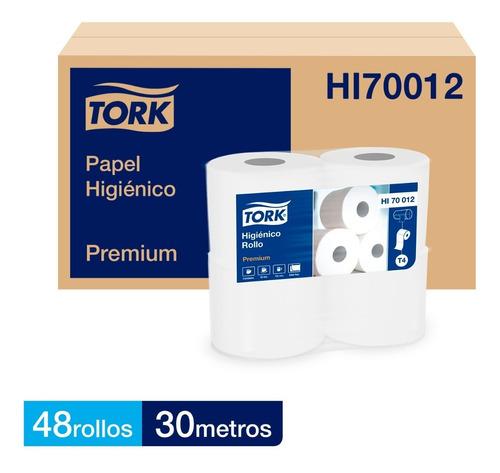 Papel Higiénico Tork 30 M. Doble Hoja Premium 48 Rollos