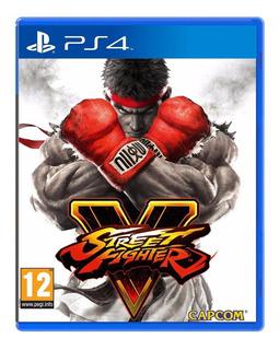 Street Fighter V Ps4 Original Sellado En Palermo Jazz Pc
