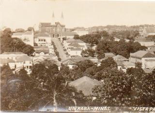 Pequena Foto Anos 1950 Centro Uberaba Minas Gerais