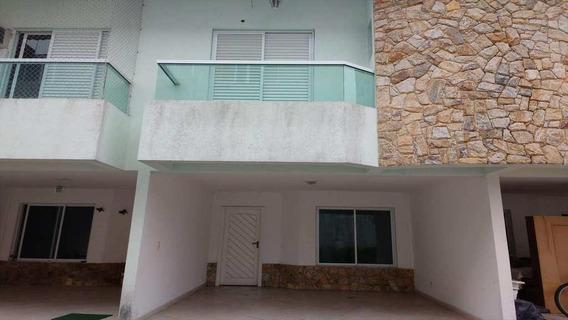 Casa Em Canto Do Forte, Praia Grande/sp De 128m² 3 Quartos À Venda Por R$ 520.000,00 - Ca168907