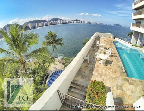 Apartamento Com 4 Dormitórios À Venda, 238 M² Por R$ 849.000,00 - Vila Luis Antônio - Guarujá/sp - Ap0056